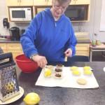 Heather making tarts
