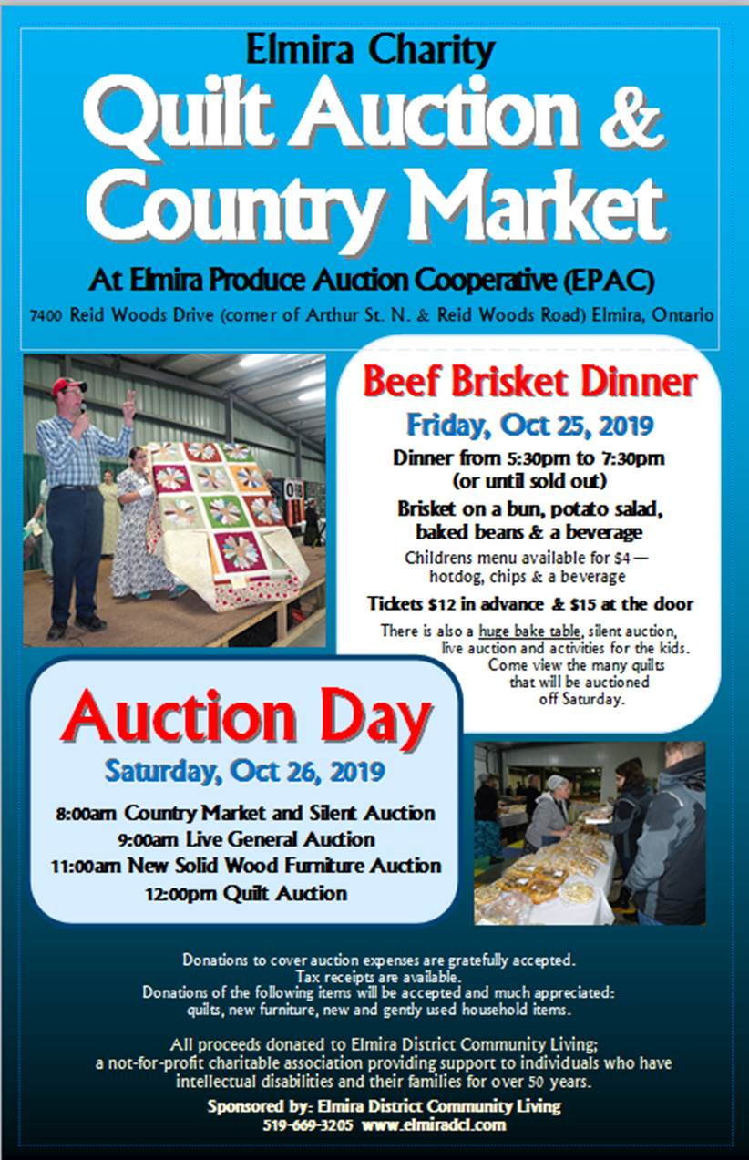 Elmira Quilt Auction